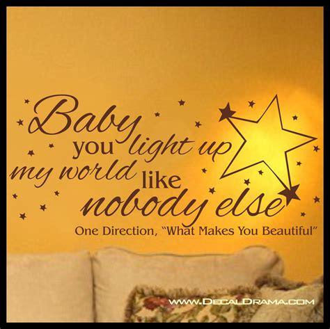 you light up my lyrics baby you light up my world like nobody else one direction
