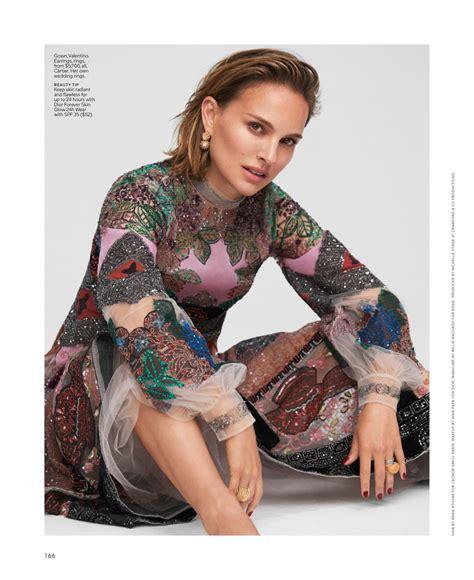 Natalie Portman Elle Women Hollywood November Issue