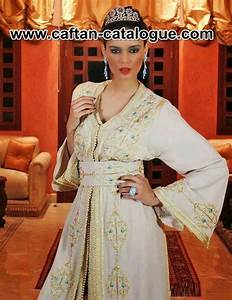 Robe De Mariage Marocaine : caftans de mariage marocain et robe en blanc caftan catalogue ~ Preciouscoupons.com Idées de Décoration