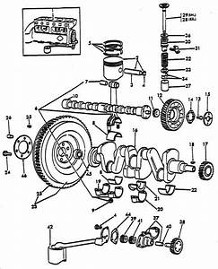 Internal Engine Parts For Ford 8n Tractors  1947