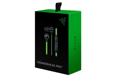 Razer Hammerhead Pro V2 - In-Ear Headphones with Mic and