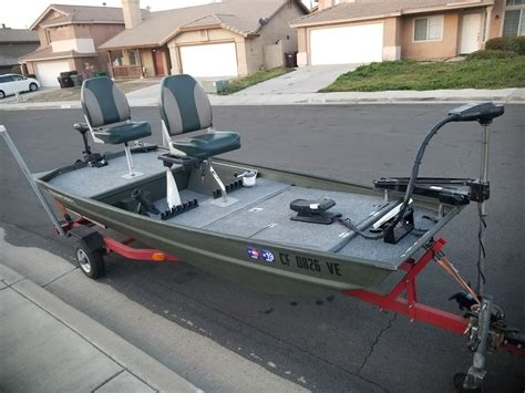 Fishing Jon Boats For Sale by For Sale 12 Jon Boat Bass Boat San Diego Fishing Forums
