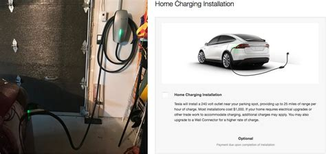 tesla starts offering home charging installations