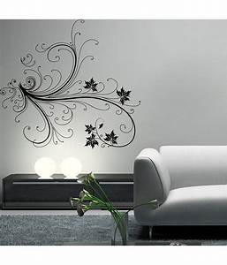Decor kafe green floral wall decal