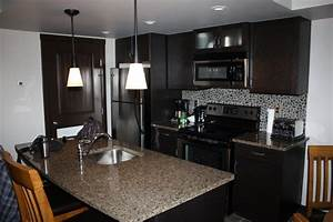 condo kitchen designs for modern contemporary grey marble With brown and black kitchen designs