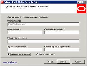 installing oracle mobile security suite on windows With oracle unified communications suite documentation