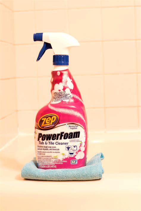 zep tub and tile cleaner zep powerfoam tub tile cleaner cupcakesandcrinoline
