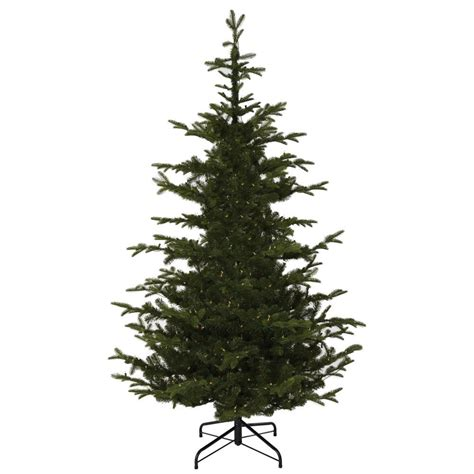 75 Pre Lit Flocked Christmas Tree by 100 Artificial Christmas Tree Unlit National Tree