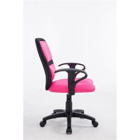 chaise de bureau tissu fauteuil chaise de bureau pour enfant avec accoudoirs en