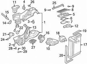 Volkswagen Passat Wagon A  C Evaporator Core Case Drain