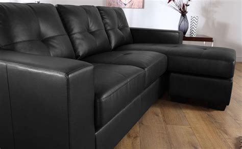 corner unit settees 20 best black leather corner sofas sofa ideas