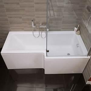 Duschwand Badewanne 160 : duschabtrennung badewanne duschzone dusche acryl wanne ~ Lizthompson.info Haus und Dekorationen