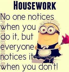 Housework Pictu... Funny Household Quotes