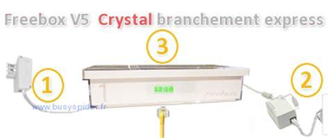 bs freebox v5 installation express facile premiers branchements bs freebox v5 crystal installation express facile premiers branchements