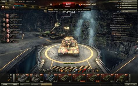 World Of Tanks Garage Mod by World Of Tanks Garage Mods Cave Technology Hangar Garage
