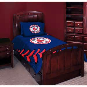 mlb red sox twin full comforter set bedding walmart com