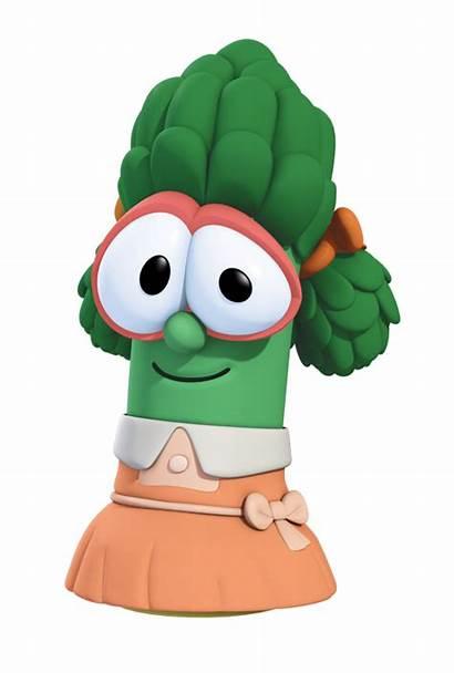 Veggietales Libby Wikia Asparagus Wiki Ultimate Ermie