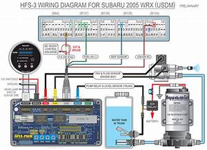 Subaru Wrx To Hfs-3 Wiring Diagrams  2002-2009