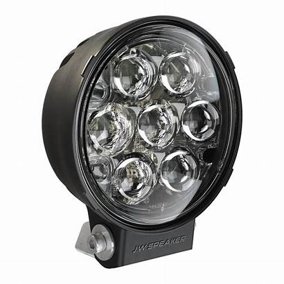 Led Road Speaker Round Jw Auxiliary Lights