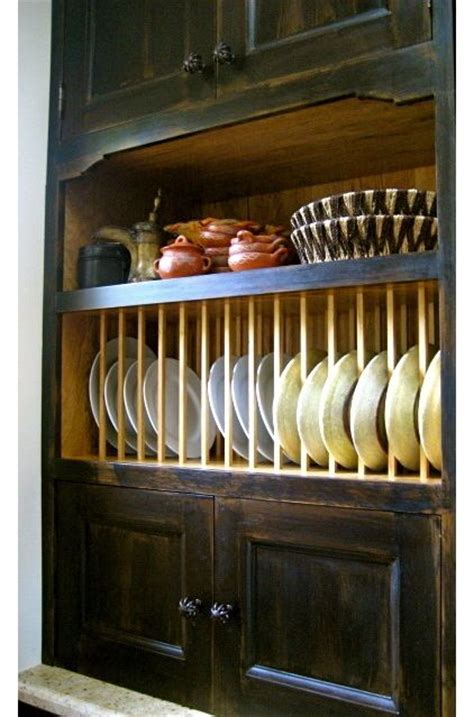 create  plate rack   cabinet  removing  doors drilling holes