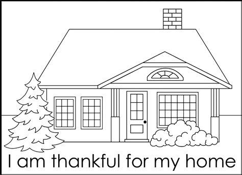 house coloring pages coloringsuitecom