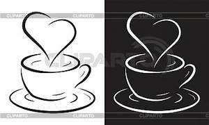 Kaffeetasse Mit Herz : kaffeetasse mit herz symbol stock vektorgrafik cliparto ~ Yasmunasinghe.com Haus und Dekorationen