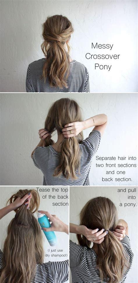 amazing ponytail hair tutorials  beginners hair
