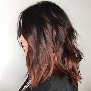 Ombré Hair Cuivré : balayage cheveux bruns 2017 ~ Melissatoandfro.com Idées de Décoration