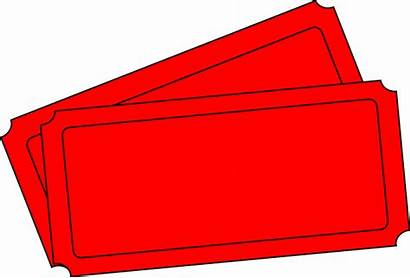 Ticket Carnival Template Clipart Clip Blank Tickets