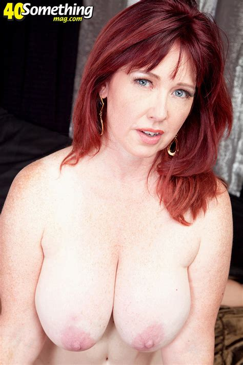 Redheaded Superslut Mature Heather Barron Gets Dp Pichunter