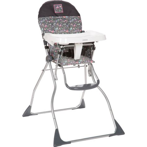 cosco slim fold high chair cosco flat fold high chair bird on a wire walmart