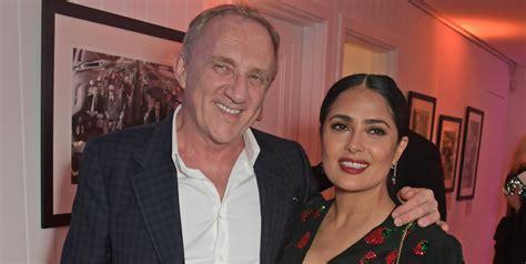 salma hayek zoe saldana double date guccis