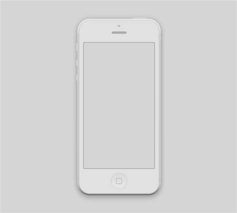iphone mockup iphone 5 mockup psd free graphics