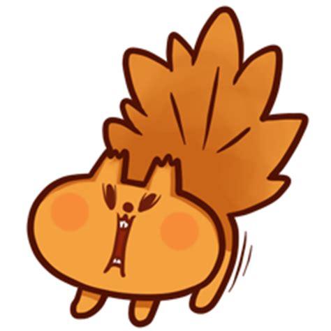 orange squirrels emoji emoticons downloads