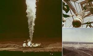 Soviet Union gas fire was extinguished with nuclear bomb