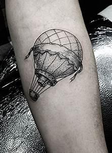 Tatouage 3 Points : montgolfi re tattoo tatouage id es de tatouages et ~ Melissatoandfro.com Idées de Décoration