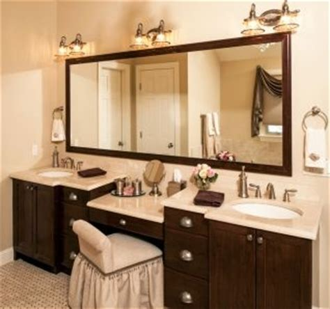 Custom Bathroom Vanities With Makeup Area by Discover And Save Creative Ideas