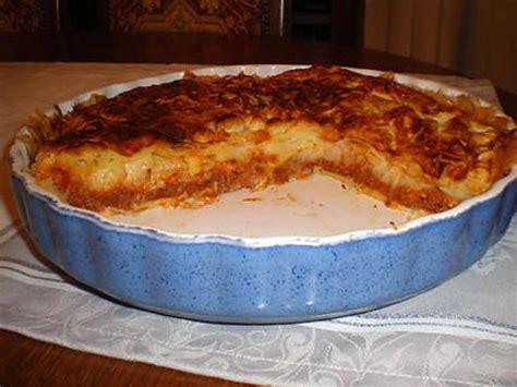 recette de tourte viande hach 233 e et pomme de terre