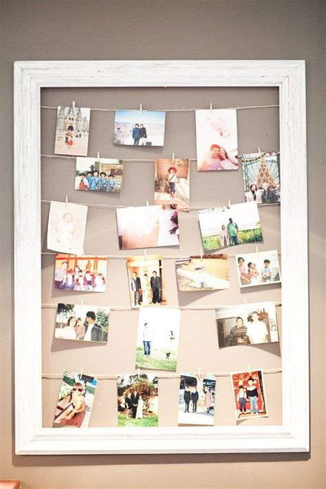 best 25 hanging picture frames ideas on pinterest