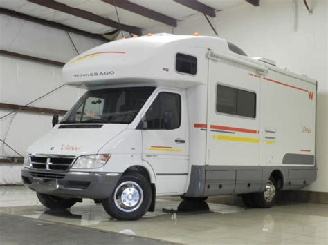 dodge sprinter  winnebago view rv camper conversion
