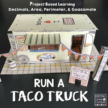 run  taco truck  project based learning activity pbl
