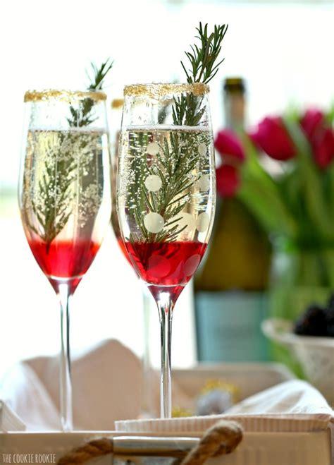 chagne cocktails recipe roundup