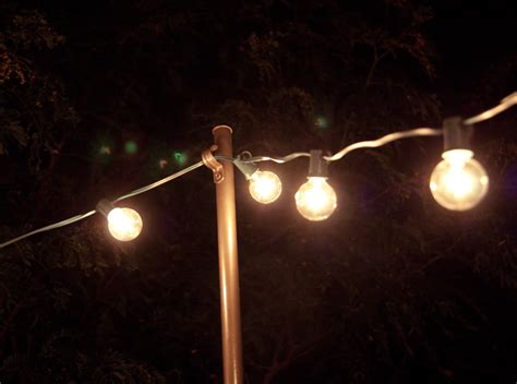 how to string lights outside bright july diy outdoor string lights
