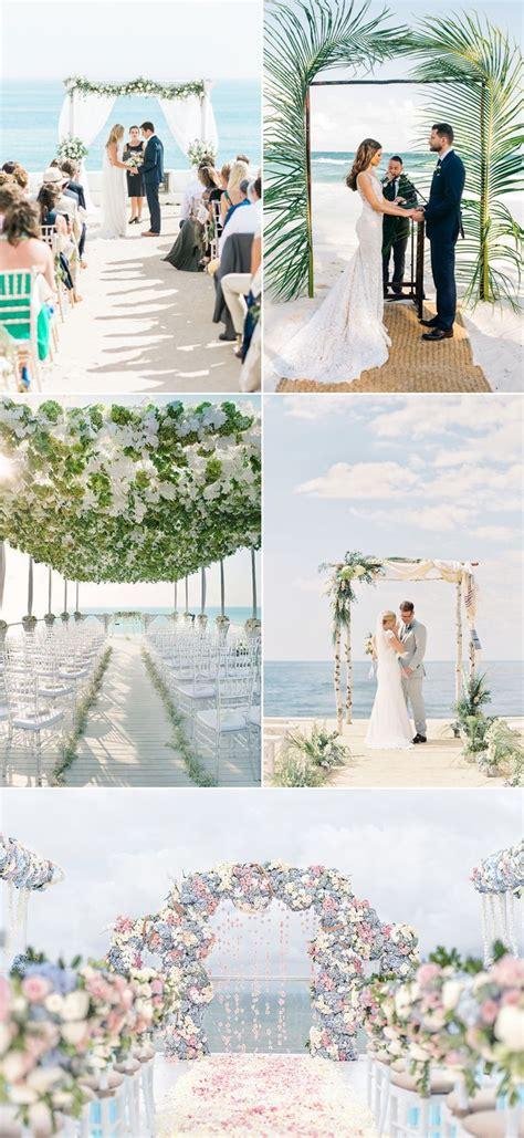 beach themed weddings ideas  pinterest beach