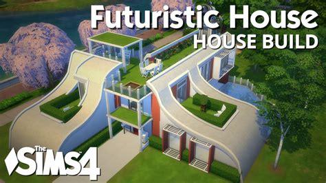 sims  house building futuristic house youtube