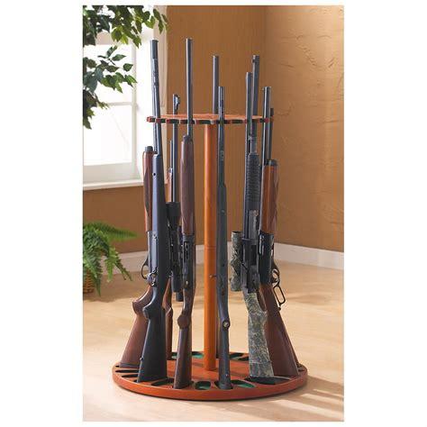 Rifle Racks by Guide Gear Rotating Magnetic Gun Rack 24 Gun Capacity