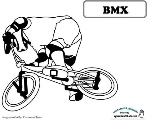 bmx coloring pages bmx coloring sheet  printable