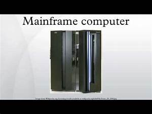 Mainframe computer - YouTube