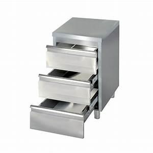 Meuble Avec Plan De Travail : meuble bas avec tiroirs ~ Dailycaller-alerts.com Idées de Décoration