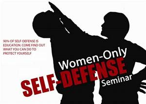 Women's Self Defense Seminar to Benefit Parker's Army ...
